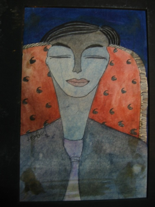 Chair II by Hemangi Ghosh, Water colour on Paper