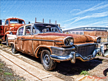 The Ole Car by Paul Maynard, Photo Art on Canvas