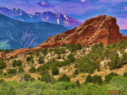 Garden of the Gods by Paul Maynard, Photo Art on Canvas