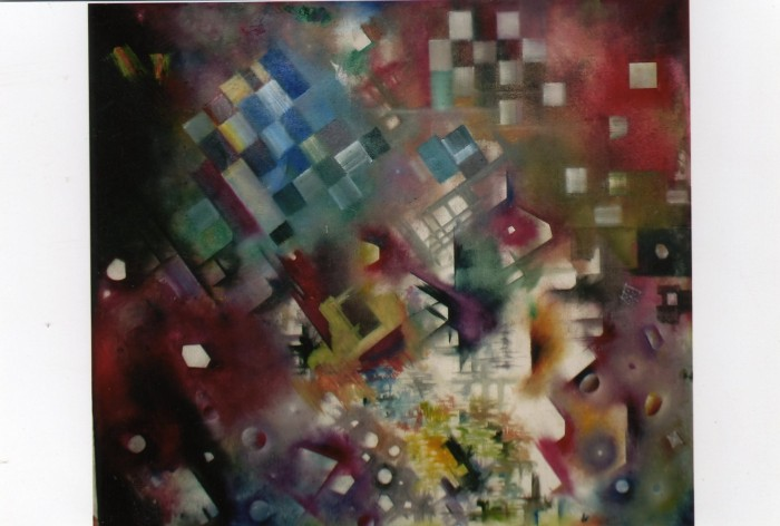 untitle by Vishal Mandaviya, oil on canvas